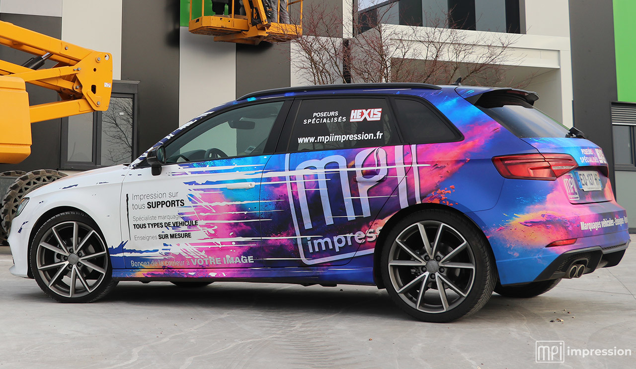 Marquage Audi MPI - Résultat