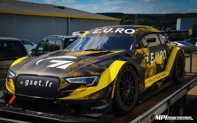 Audi Mitjet covering complet face avant