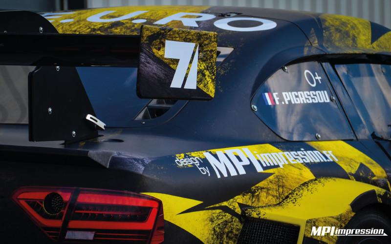 Audi Mitjet covering complet