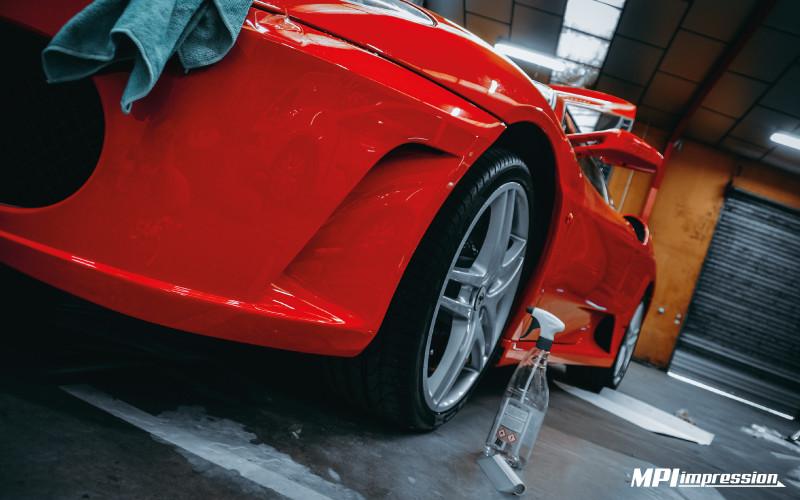 Protection de carrosserie bas de caisse Ferrari 430