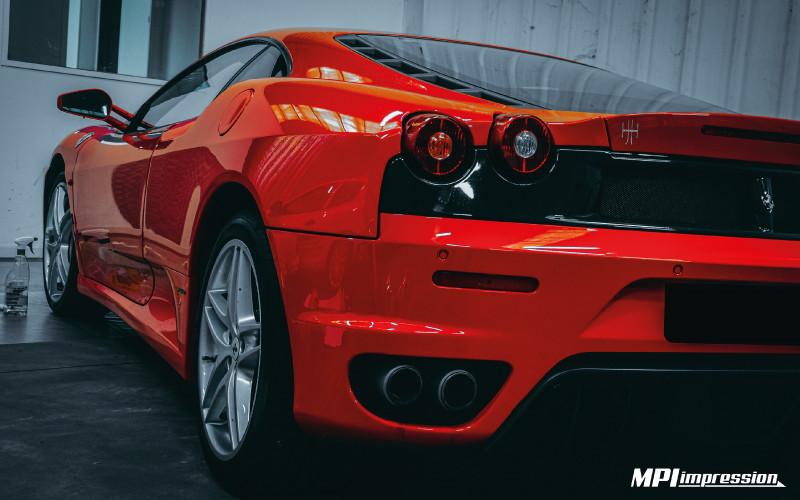 PPF carrosserie Ferrari 430