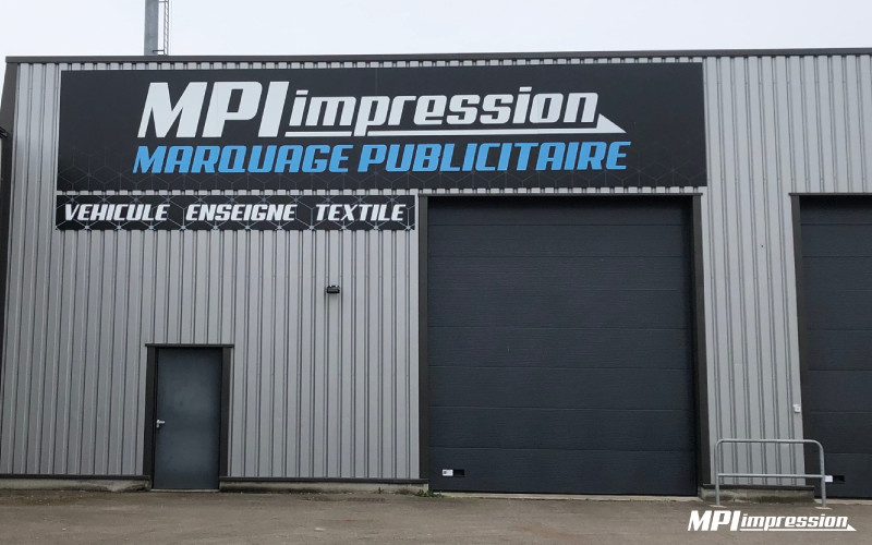 Enseigne MPI Dibond Impression Numerique