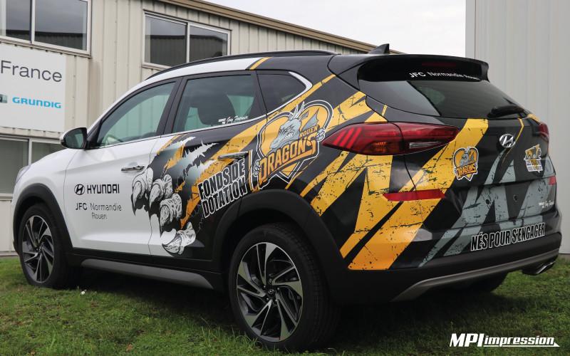 Marquage Hyundai Tucson RHE