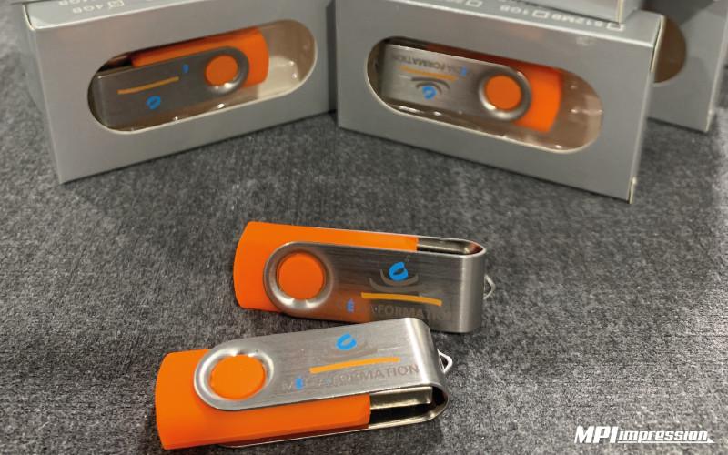 Clé USB personnalisée Media Formation